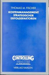 """Buch """"Kostenmanagement"""""""