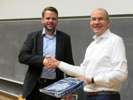 Herr Oliver Gehb und Prof. Thomas M. Fischer