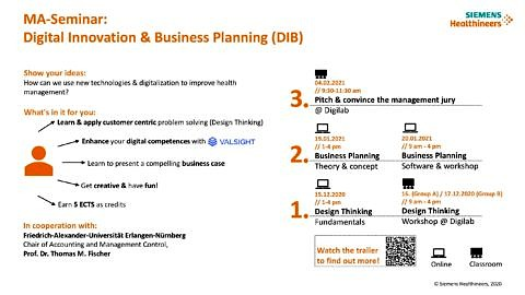 "Zum Artikel ""Digital Innovation & Business Planning (DIB) WT 2020/21: Application by November 20, 2020"""